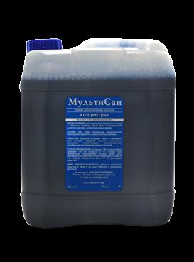 МультиСан - жидкость для нижнего бочка биотуалета