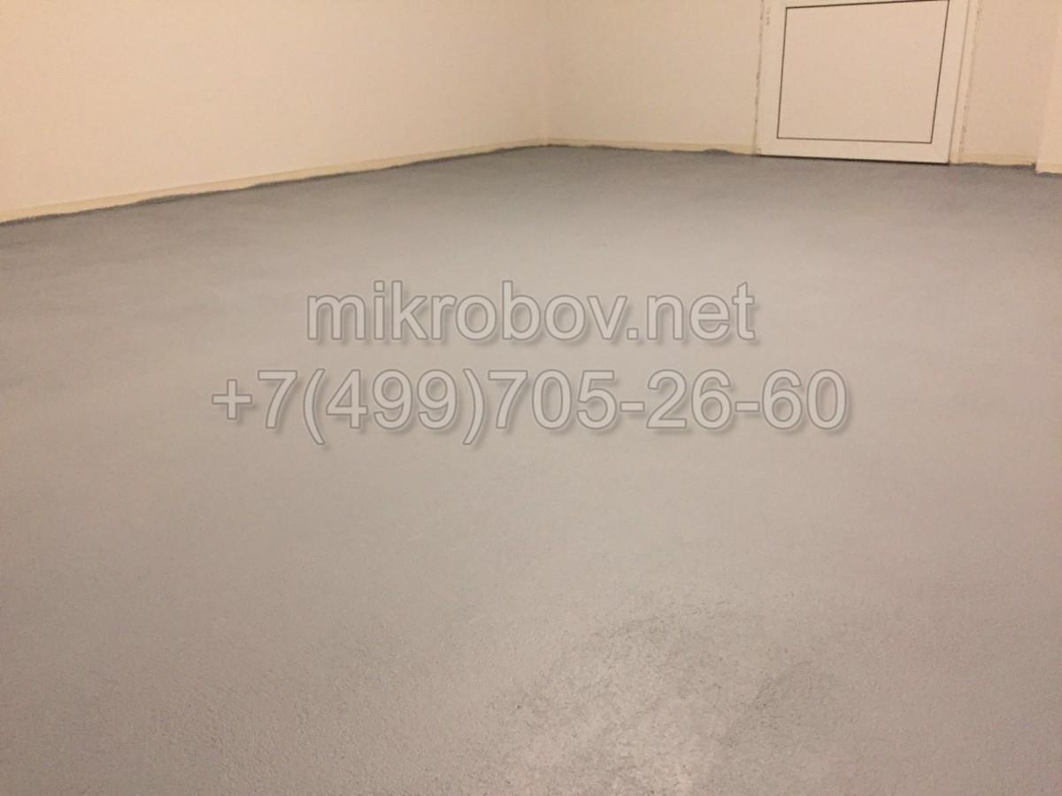 Покраска бетона серой краской