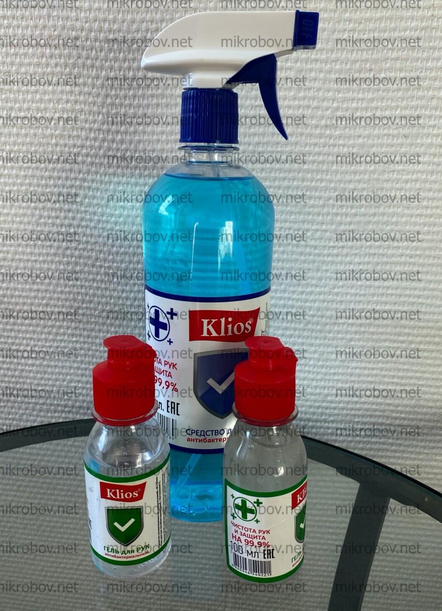 Klios - гель для рук антибактериальный